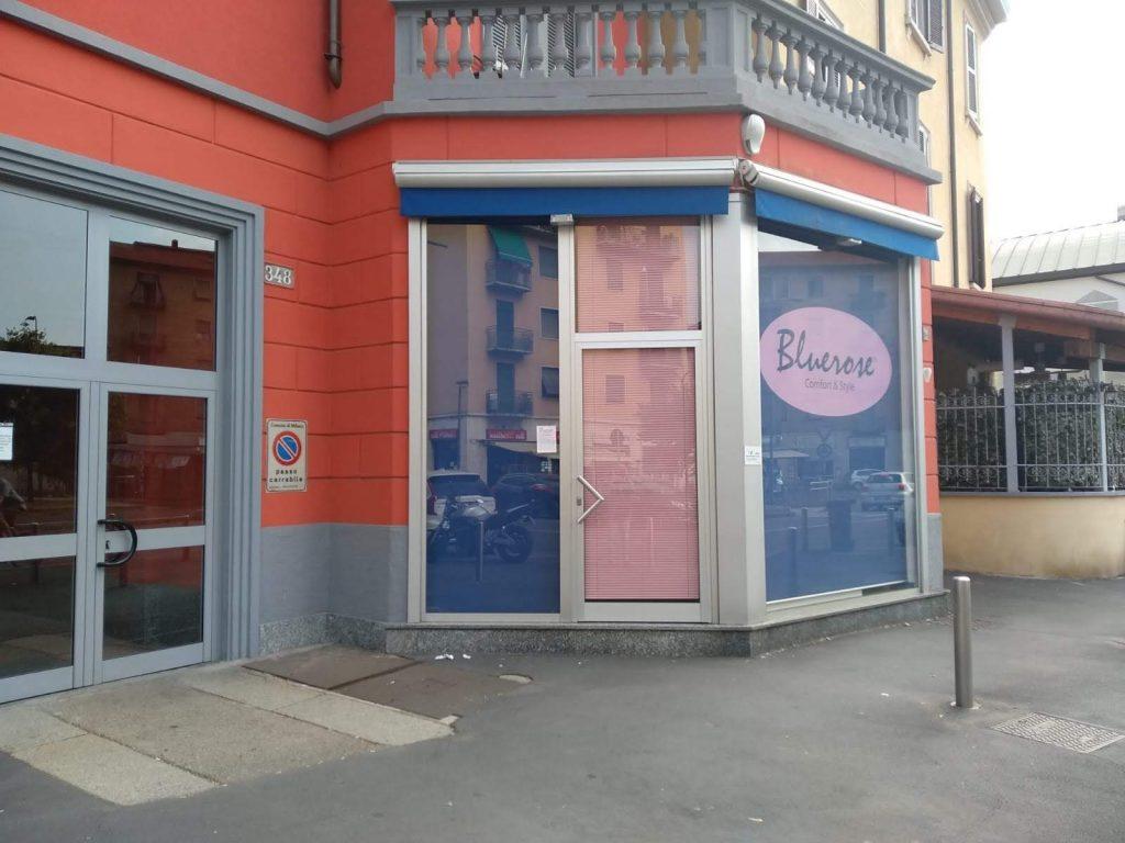 negozio in affitto forze armate milano