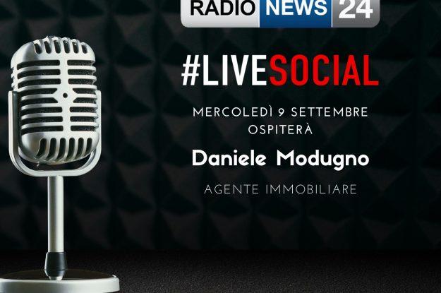 Intervista per Radio News24 – #livesocial
